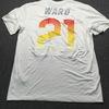 PCF - Browns Denzel Ward 2019 Pro Bowl Practice worn T-Shirt