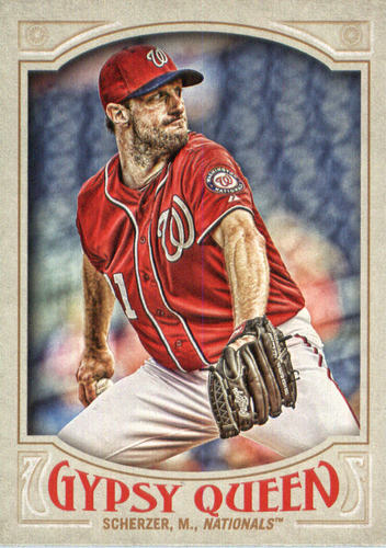 Photo of 2016 Topps Gypsy Queen #131A Max Scherzer/Pitching