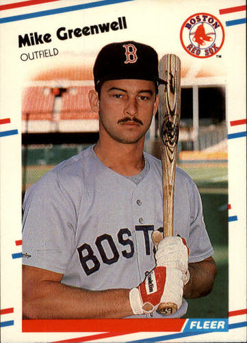 Photo of 1988 Fleer #354 Mike Greenwell