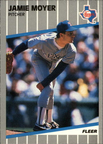 Photo of 1989 Fleer Update #65 Jamie Moyer