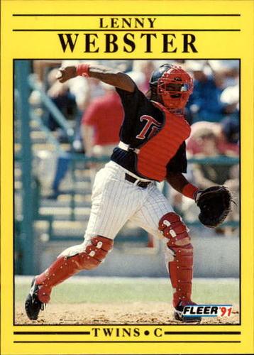 Photo of 1991 Fleer Update #41 Lenny Webster