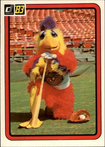 Photo of 1983 Donruss #645 The Chicken