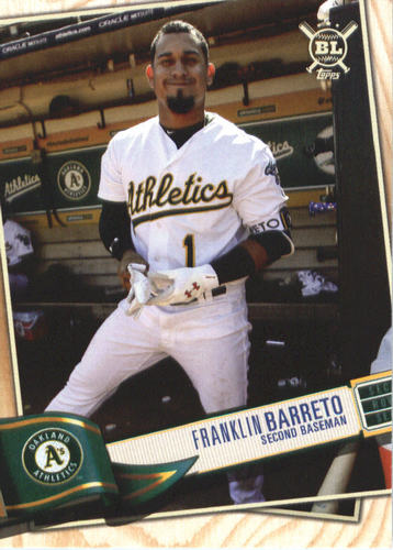 Photo of 2019 Topps Big League #249 Franklin Barreto