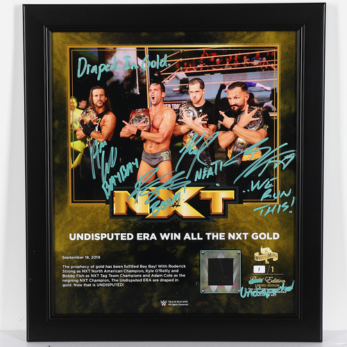 Photo of Undisputed Era SIGNED Custom UNDISPUTED Edition Plaque (1 of 1)