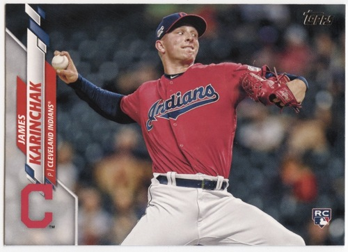 Photo of 2020 Topps #380 James Karinchak RC