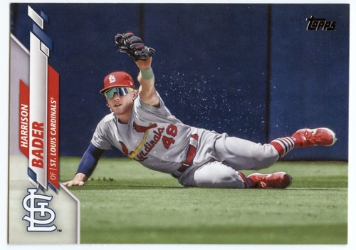 Photo of 2020 Topps #461 Harrison Bader
