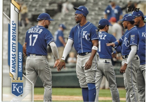 Photo of 2020 Topps #668 Kansas City Royals TC