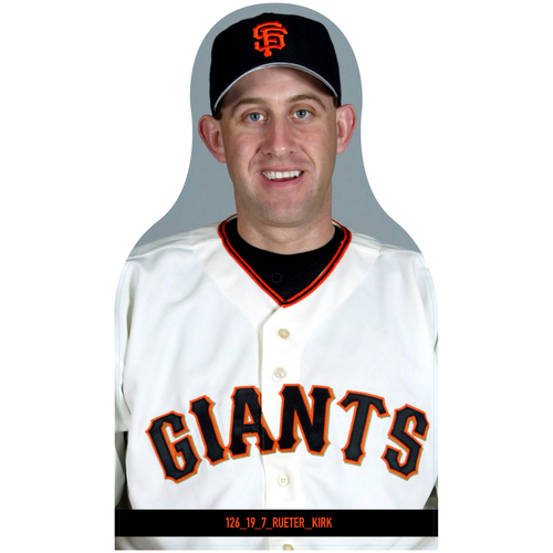 Photo of Giants Community Fund: Giants Kirk Rueter Cutout