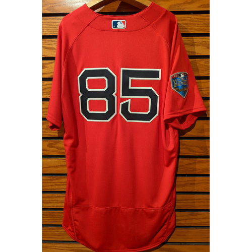 Photo of 2018 World Series Team Issued #85 Home Alternate Red Jersey