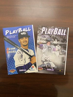 Adam Engel & Zack Collins Autographed Playballs