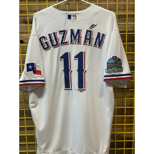 Photo of Ronald Guzman Team-Issued white Jersey