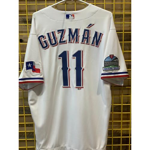 Photo of Ronald Guzman Team-Issued white Jersey