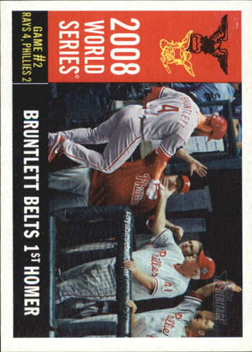 Photo of 2009 Topps Heritage #386 Eric Bruntlett WS