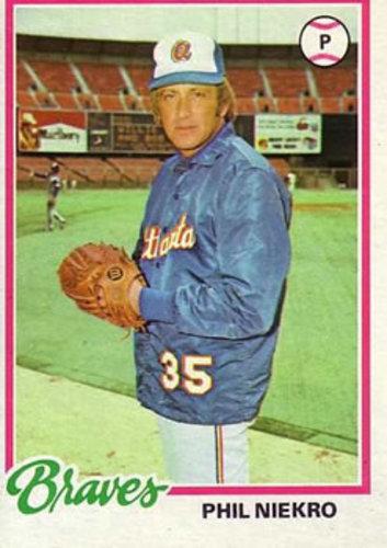 Photo of 1978 Topps #10 Phil Niekro