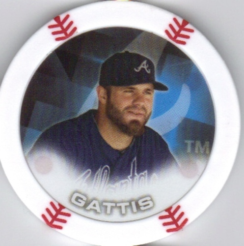 Photo of 2014 Topps Chipz #29 Evan Gattis