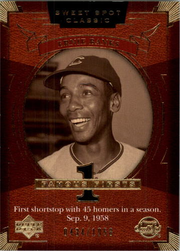 Photo of 2004 Sweet Spot Classic #93 Ernie Banks FF/1958