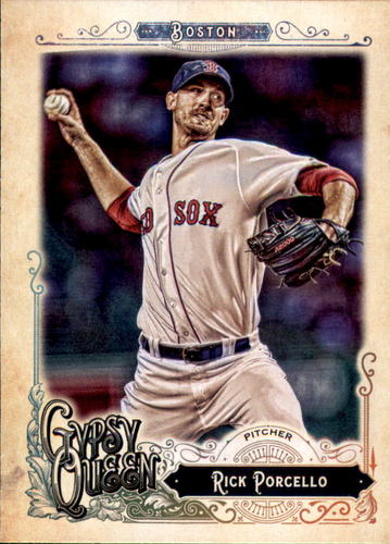 Photo of 2017 Topps Gypsy Queen #34 Rick Porcello