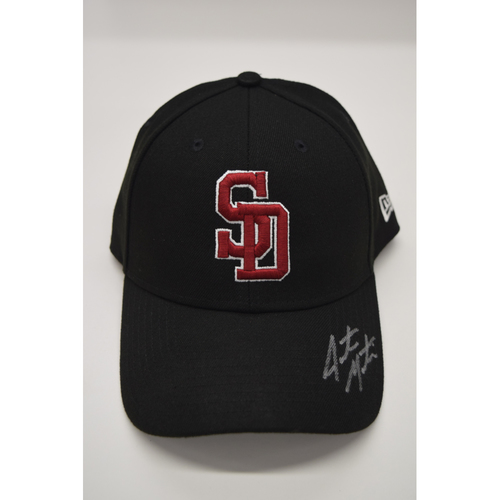 Photo of Jarrett Martin #71 - Signed & Game-Used Marjory Stoneman Douglas High School Hat - CHARITY AUCTION