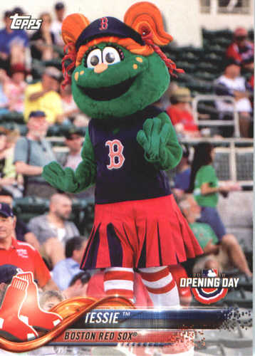 Photo of 2018 Topps Opening Day Mascots #M3 Tessie