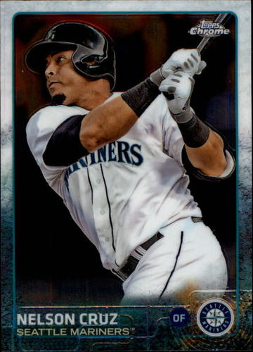 Photo of 2015 Topps Chrome #110 Nelson Cruz