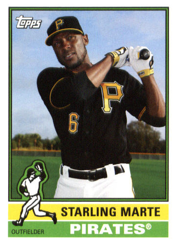 Photo of 2015 Topps Archives #111 Starling Marte