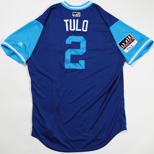 """Photo of Troy """"Tulo"""" Tulowitzky Toronto Blue Jays Team Issued Jersey 2018 Players' Weekend Jersey"""