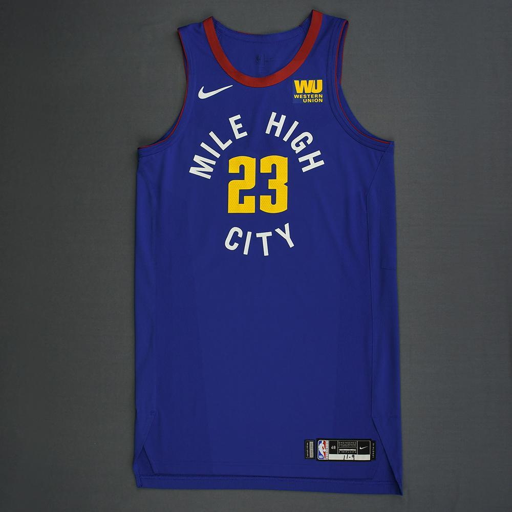 DeVaughn Akoon-Purcell - Denver Nuggets - Game-Worn Statement Edition Jersey - 2018-19 Season - Dressed, Did Not Play