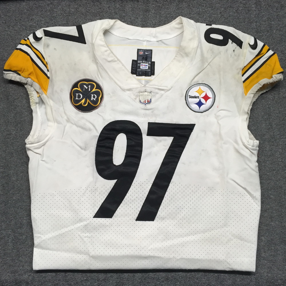 new product ed1ea 6f704 NFL Auction | STS - Steelers Cameron Heyward game worn ...