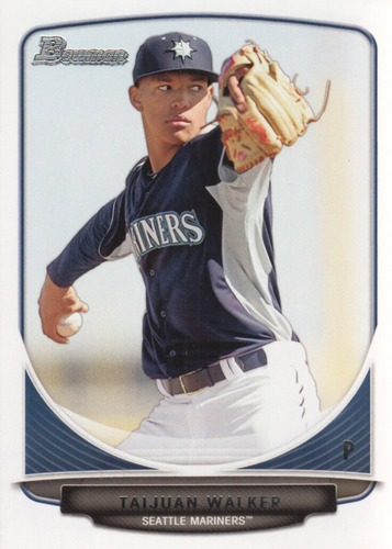 Photo of 2013 Bowman Draft Top Prospects #TP15 Taijuan Walker Pre-Rookie Card