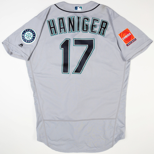 Photo of 2019 Japan Opening Day Series - Game Used Jersey - Mitch Haniger, Seattle Mariners at Oakland Athletics -3/18/2019 , 3/20/2019