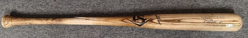 Photo of Authenticated Team Issued Cracked Bat - Melvin Upton Jr. (2018 Season).