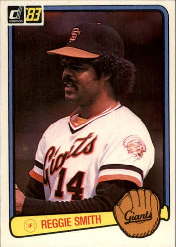 Photo of 1983 Donruss #611 Reggie Smith