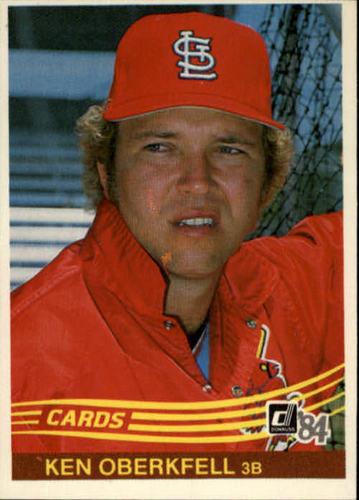 Photo of 1984 Donruss #504 Ken Oberkfell