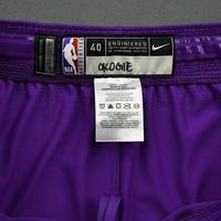 Josh Okogie - 2020 NBA Rising Stars - Team World - Game-Worn 1st Half Shorts