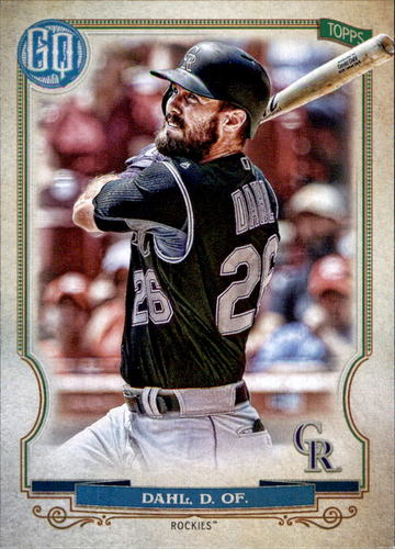 Photo of 2020 Topps Gypsy Queen #75 David Dahl