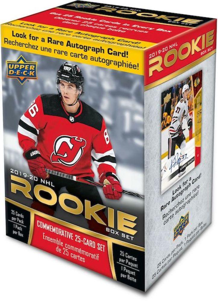 2019-20 Upper Deck NHL Rookie Box Set