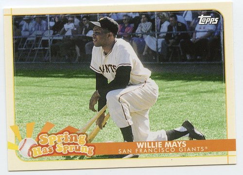 Photo of 2020 Topps Opening Day Spring Has Sprung #SHS5 Willie Mays