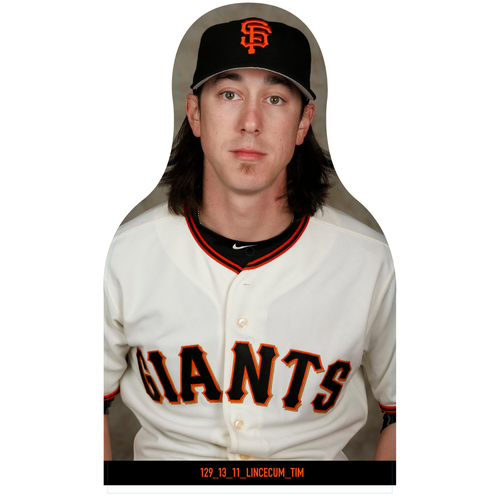 Photo of Giants Community Fund: Giants Tim Lincecum Cutout