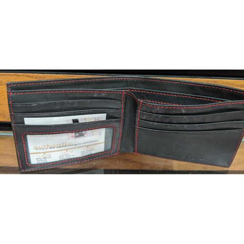 Photo of Tokens & Icons Game Used Leather Jersey Wallet