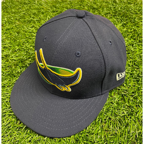 Photo of Team Issued Devil Rays Cap: Rodney Linares #27