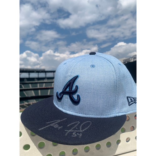 Photo of Max Fried MLB Authenticated Autographed Father's Day Hat
