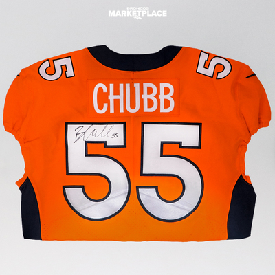 Photo of Bradley Chubb Autographed Authentic Jersey