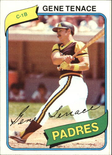 Photo of 1980 Topps #704 Gene Tenace
