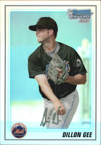 Photo of 2010 Bowman Chrome Prospects Refractors #BCP70 Dillon Gee