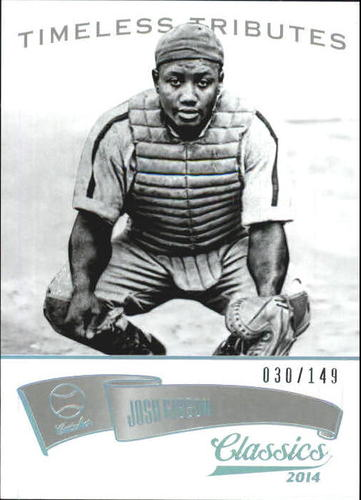 Photo of 2014 Classics Timeless Tributes Silver #80 Josh Gibson