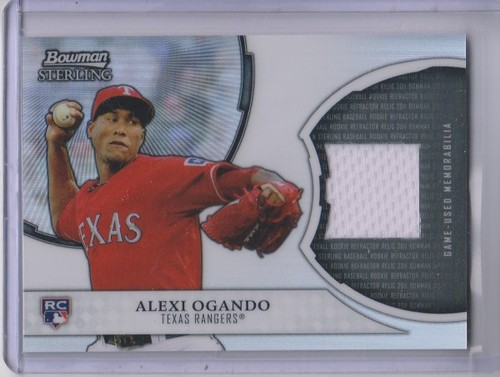 Photo of 2011 Bowman Sterling Rookie Relics #AO Alexi Ogando
