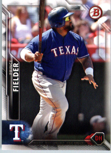 Photo of 2016 Bowman #87 Prince Fielder
