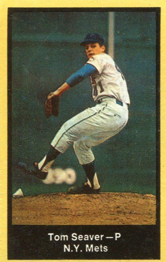 1969 Nabisco Team Flakes #22 Tom Seaver S2