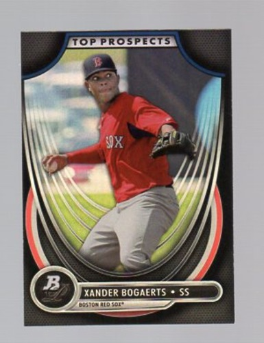 Photo of 2013 Bowman Platinum Top Prospects #XB Xander Bogaerts