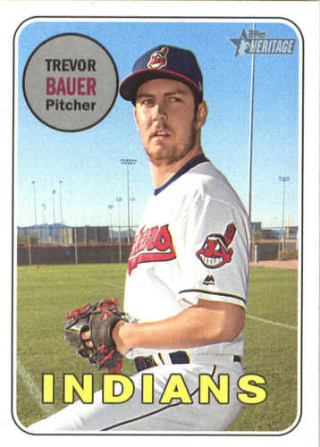 Photo of 2018 Topps Heritage #267 Trevor Bauer